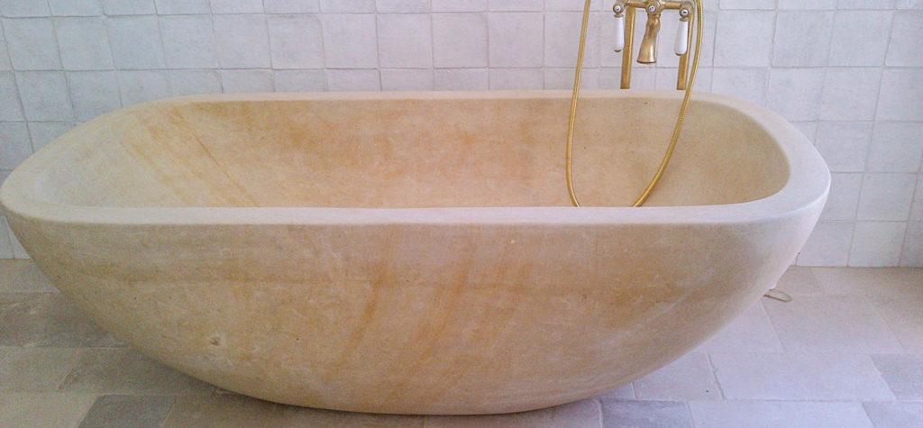 Vasca da bagno pitardi cavamonti estrazione lavorazione - Vasca da bagno in pietra ...